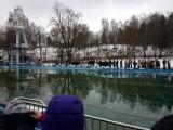 Eisbaden in Friedrichroda am 16.02.2013